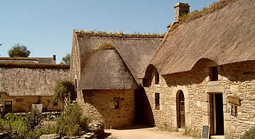 French country cottages Brittany